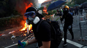 Tear gas, petrol bombs and live fire at fresh clashes between police & protesters in Hong Kong (PHOTO, VIDEO)