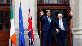 Bojo's leaked Brexit plan for Irish border slammed by Dublin