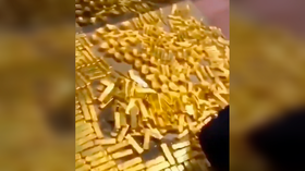 13.5 TONS of gold found piled in Chinese ex-governor's home (VIDEO)