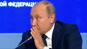 'Pssst… Don't tell anyone, but we surely will': Putin pokes fun at question of whether Russia plans to meddle in 2020 US election