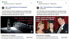 'For futur of you're famly': FBI seeks to recruit 'Russian spies' with hilariously inept Facebook ad