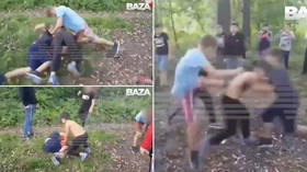 Fight club for school kids: Shocking MMA-like VIDEO sparks police probe