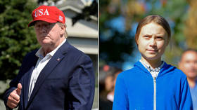 'Keep up the great work': Trump jabs at Greta Thunberg in Twitter proxy battle