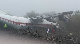 5 dead as Turkey-bound cargo plane crash-lands in western Ukraine after 'running out of fuel' (PHOTOS)
