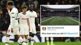 'Wow, look what you did': Bayer Leverkusen trolls Tottenham Hotspur with NFL tweet after Spurs' Champions League hammering