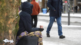 'Never been so ashamed': Stockholm's begging ban narrowly passed in ELITE district has Swedes arguing over welcoming v. security