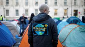 'Nose-ringed uncooperative crusties': BoJo mocks 'hemp-smelling' Extinction Rebellion activists as huge protest erupts