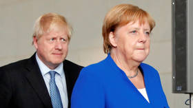 'Overwhelmingly unlikely': BoJo's Brexit plan in tatters as Merkel reportedly dismisses chances of a deal