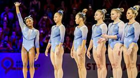 Nerves of steel: Unstoppable Simone Biles leads USA to fifth consecutive world title