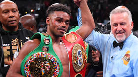 World champion boxer Errol Spence 'awake and responding' after horror Ferrari smash