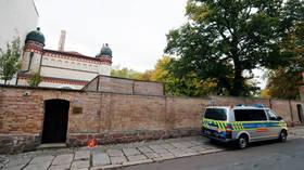 German synagogue gunman admits to shooting, anti-Semitic motive – reports