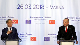 EU's Tusk warns Ankara's actions in Syria may lead to humanitarian catastrophe