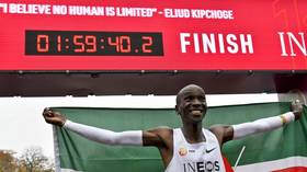 'He didn't even look tired!' Kenya's Eliud Kipchoge makes history by becoming first person to run sub 2-hour marathon (VIDEO)
