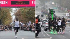 Laser beams, an army of pacesetters & special Nike shoes: How Eliud Kipchoge ran the first sub 2-hour marathon