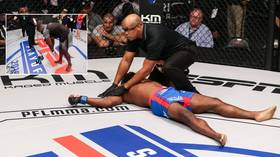 A night to forget: MMA fighter announces retirement after defeat – only to return 1 hour later and get brutally KO'd (VIDEO)