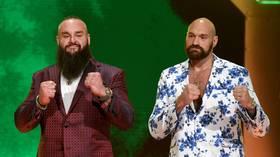 Tyson Fury's top 4 fantasy fights in WWE & MMA