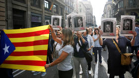 Protests erupt in Barcelona as citizens vent anger at harsh sentences for Catalan referendum organizers