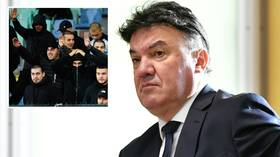 Bulgarian Football Union president Borislav Mihaylov QUITS after racism mars Bulgaria vs England Euro 2020 qualifier in Sofia