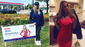 Model candidate: Polish-born Playboy cover star runs for office in Canada