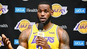 'It's a tough situation': LeBron James looks to calm tensions as fans burn his jersey in protest after free speech tweets (VIDEO)