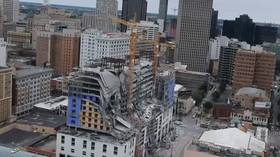 VIDEO purports to show structural flaws at Hard Rock Hotel construction site days before deadly collapse