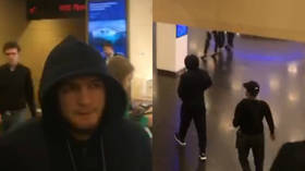Scandal in Moscow: Khabib walks out of his own press conference before it begins, leaving media outlets empty-handed (VIDEO)