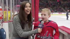'Hockey isn't about winning, it's about having fun': Young NHL fan delivers best hockey interview of the year (VIDEO)
