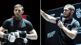 Khabib brands McGregor 'alcoholic' & 'rapist,' Irishman labels UFC champ 'a p*ssy' in ugly war of words