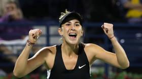 Swiss tennis star Belinda Bencic wins Kremlin Cup 2019 with victory over Pavlyuchenko in Moscow
