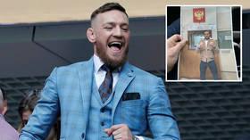 Conor McGregor 'set for Moscow visit' after Khabib feud reignites