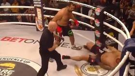 'Have you no shame?': Bare Knuckle FC criticized after Antonio 'Bigfoot' Silva suffers inevitable KO defeat