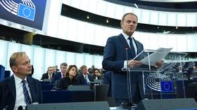 EU will wait on UK Parliament before granting Brexit delay, but no-deal 'will never be our decision,' says Tusk