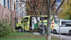 WATCH: Police open fire as Oslo ambulance ramming suspect flees the scene