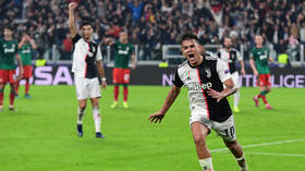 Russians stop Ronaldo: Dybala saves Juventus in 2-1 win after Lokomotiv Moscow take lead in Turin