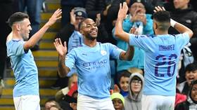 Manchester City 5-1 Atalanta: 'Brilliant' Raheem Sterling hits 11-minute hat-trick as City romp to Champions League victory