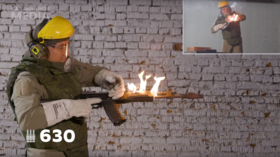 Modern AK-12 assault rifle works itself to death in a new HOT VIDEO by Kalashnikov