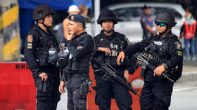 Philippine mayor killed in daylight AMBUSH, as gang of 10 heavily armed gunmen open fire on police convoy