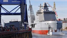 Russia launches 'combat icebreaker' Ivan Papanin, an advanced patrol boat for the Arctic