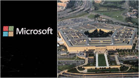 Microsoft bags $10bn Pentagon contract for JEDI 'war cloud' project, edging out presumed frontrunner Amazon