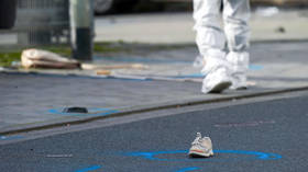 Shocking murder in Germany: Woman run over & then HACKED to death in broad daylight by her HUSBAND