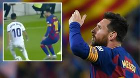 Messi reaches yet another scoring milestone but Barcelona fall to shock defeat at Levante