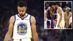 'Nightmare for the Warriors': NBA star Steph Curry's broken hand threatens to derail Golden State Warriors' season (VIDEO)