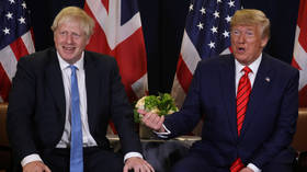 Trump invades Brexit: 'We can't make' US-UK trade pact with current EU deal & Corbyn's 'so bad' for Britain, he tells Farage