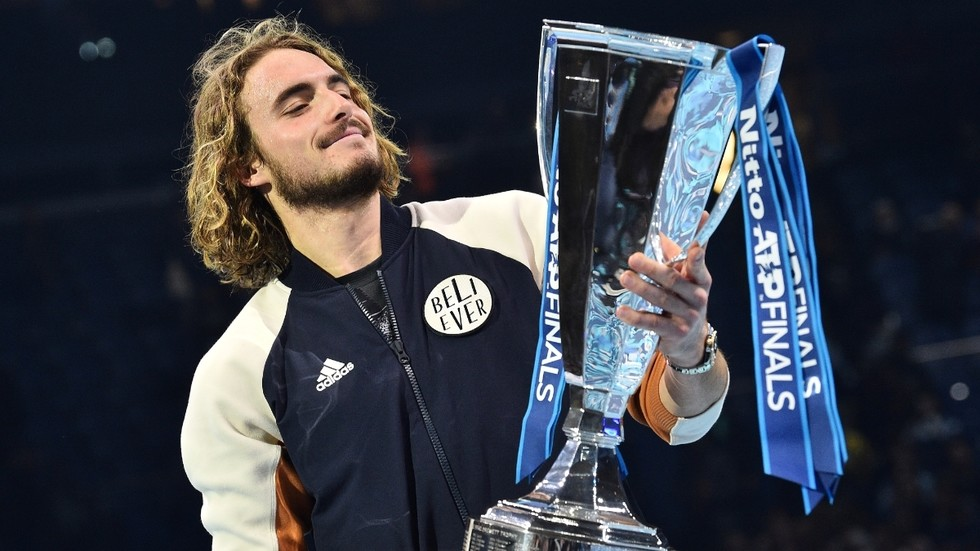 ATP Finals: Stefanos Tsitsipas hails London support after come-from-behind victory
