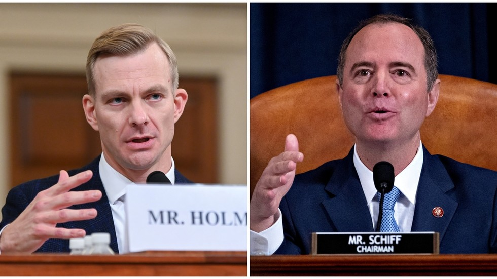 Schiff brings lip-reading witnesses and angry bureaucrats into impeachment theater