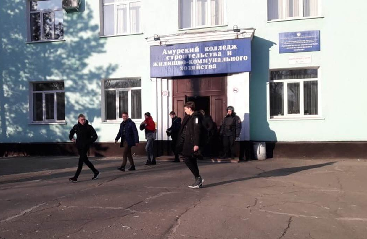 Teenager kills one in Russian college