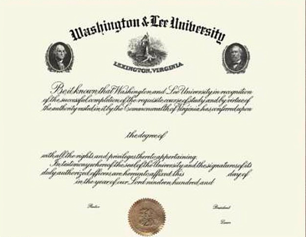 Students at Washington & Lee University campaign to have Washington and Lee removed from diplomas over fear of offending
