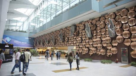Indira Gandhi International Airport in New Delhi, India. © Global Look Press / ZumaPress / Nicolas Economou