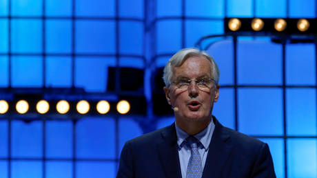EU's Barnier foresees difficult talks on post-Brexit trade deal, won't tolerate 'unfair competitive advantage'