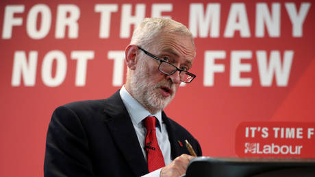 'Rat hairs & maggots': Corbyn warns BoJo's post-Brexit trade deal with Trump would lead to increased food contamination